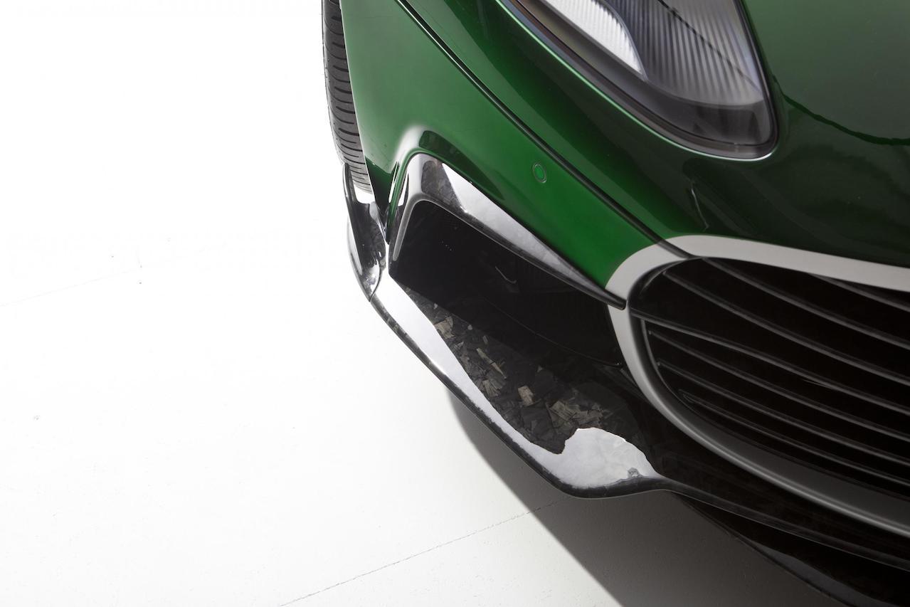 mansory aston martin db11 cyrus carbon fiber front bumper lip spoiler