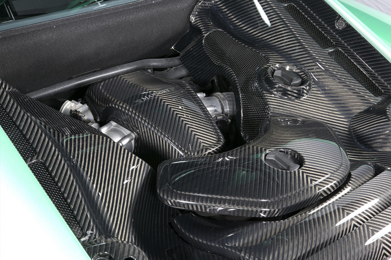mansory mclaren mp4 12c wide body kit carbon fiber engine bay 2012 2013 2014