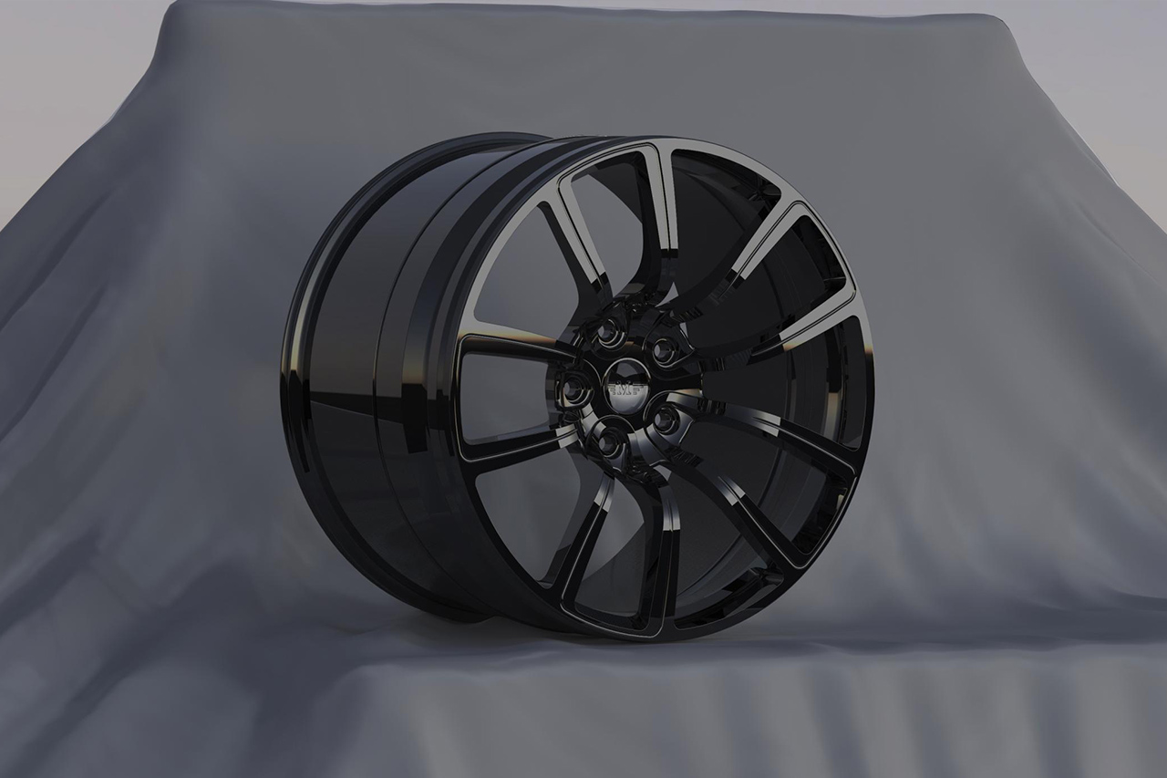 mansory 4c plus wheel bugatti veyron black