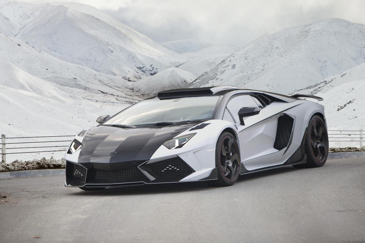 mansory aventador carbonado gt carbon fiber front end fully forged wheel rim