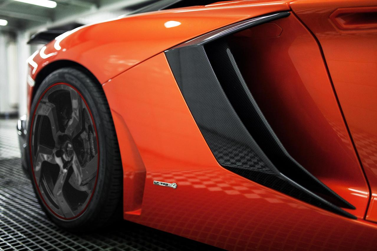 mansory aventador competition carbon fiber air intake fully forged wheel