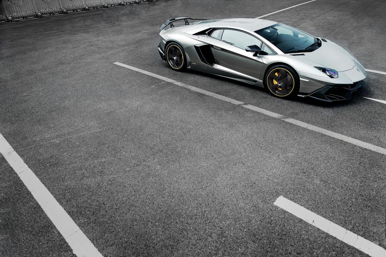 mansory aventador competition carbon fiber rear bumper exhaust competition wing spoiler