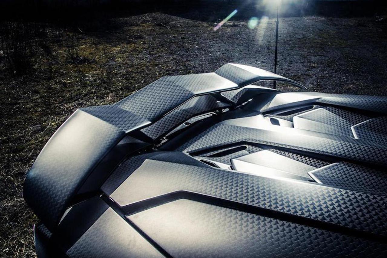 mansory aventador roadster carbonado apertos carbon fiber wide body trunk spoiler wing