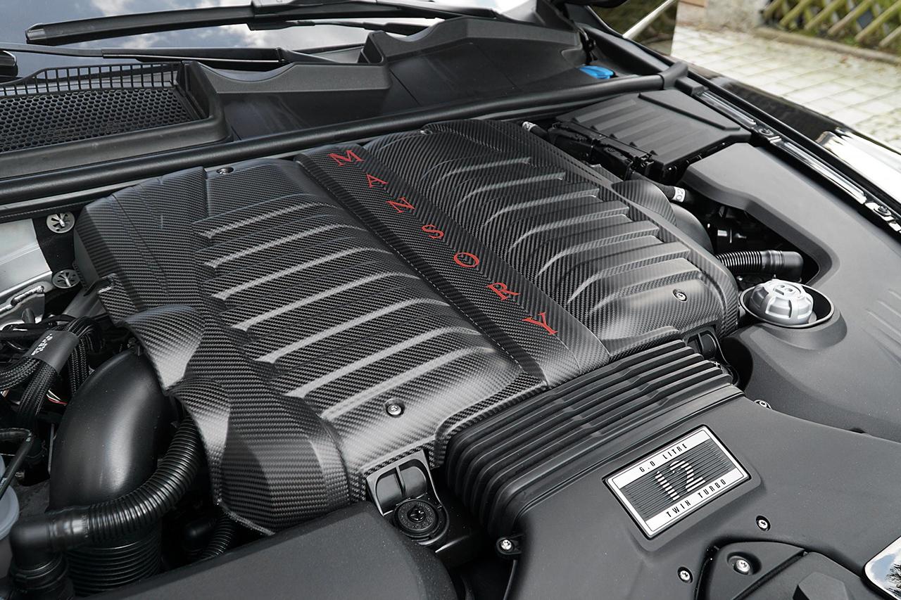 mansory bentley bentayga carbon fiber engine cover 2016 2017 2018 2019