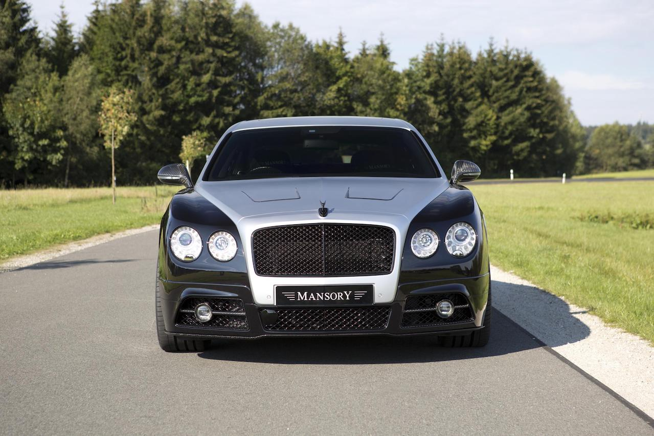 mansory bentley flying spur front bumper front grill