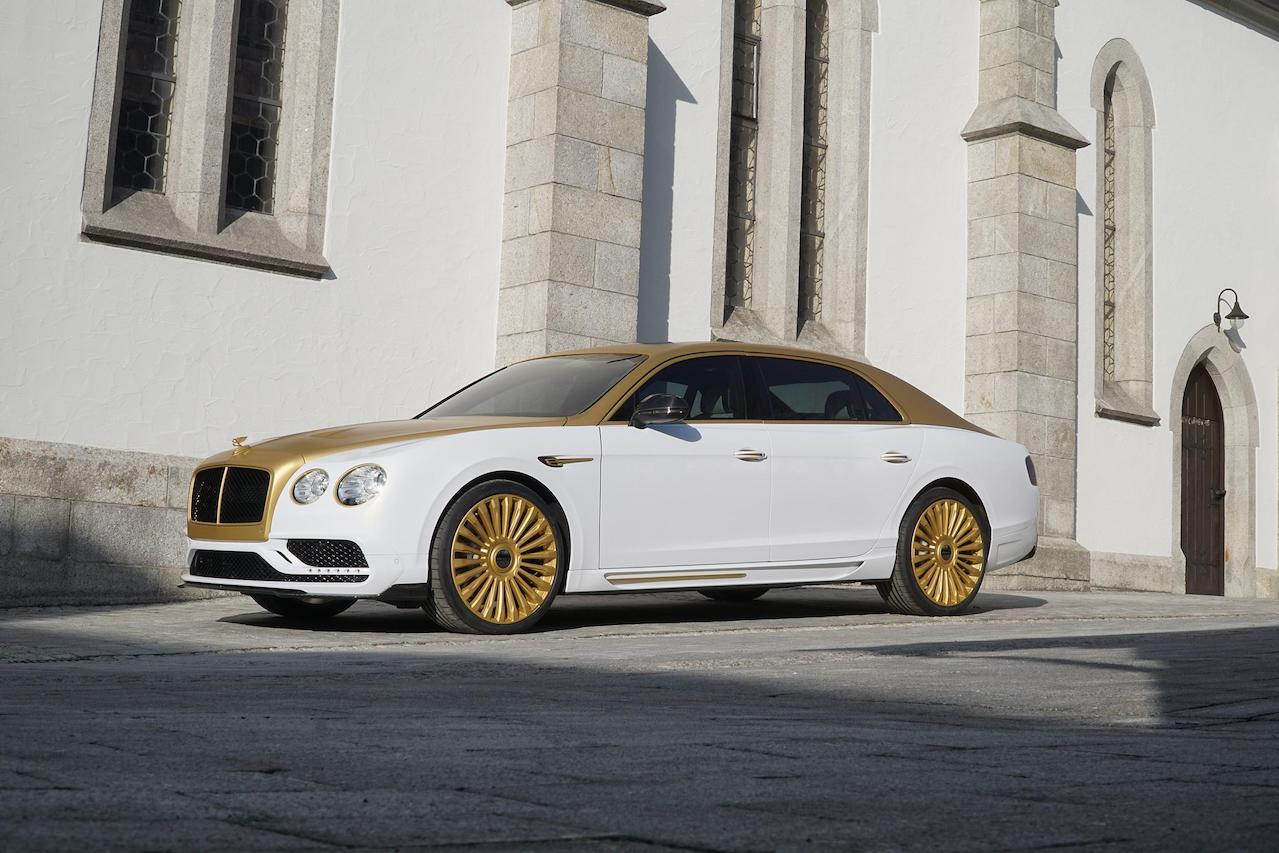 mansory bentley flying spur new front bumper led drl side skirt set grill fender set multispoke wheel rim