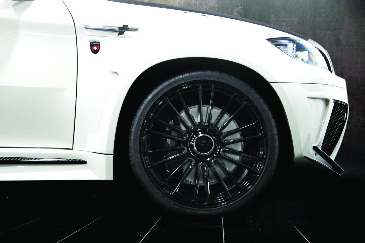 mansory bmw x6 white wide body front fender m10 wheel rim 2008 2009 2010 2011 2012 2013 2014