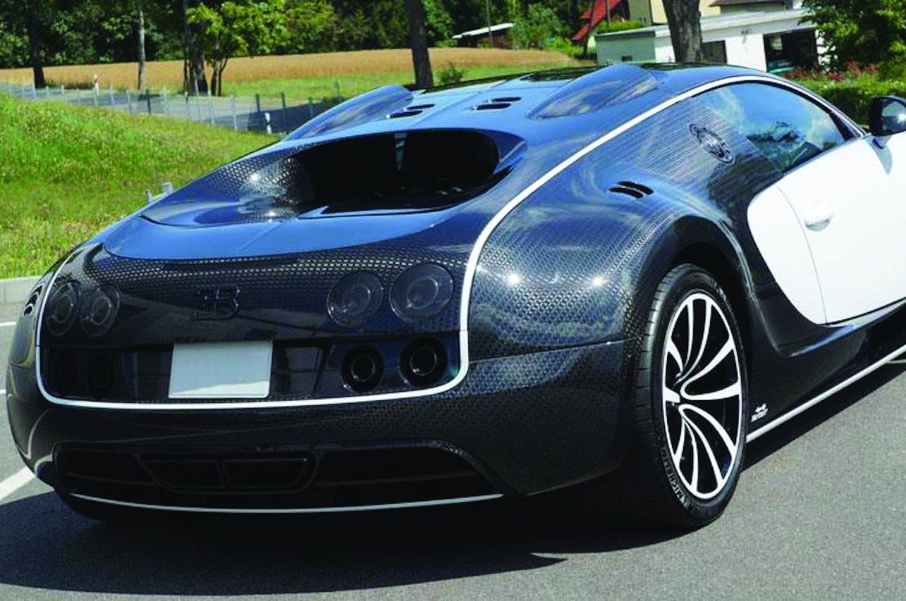 mansory bugatti veyron rear angle rear bumper carbon fiber fender side skirt