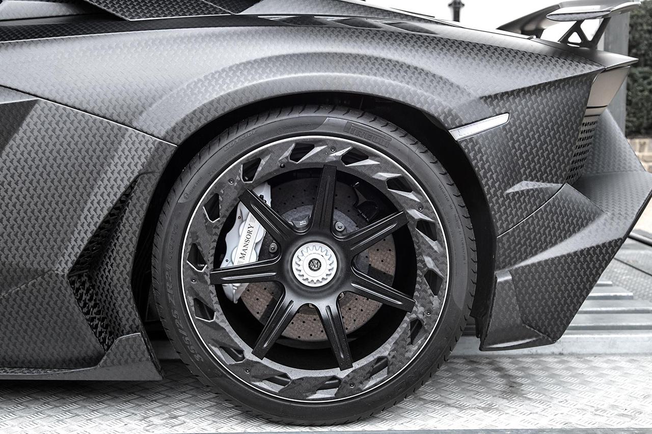 mansory carbonado v forged wheel rim carbon fiber lamborghini aventador