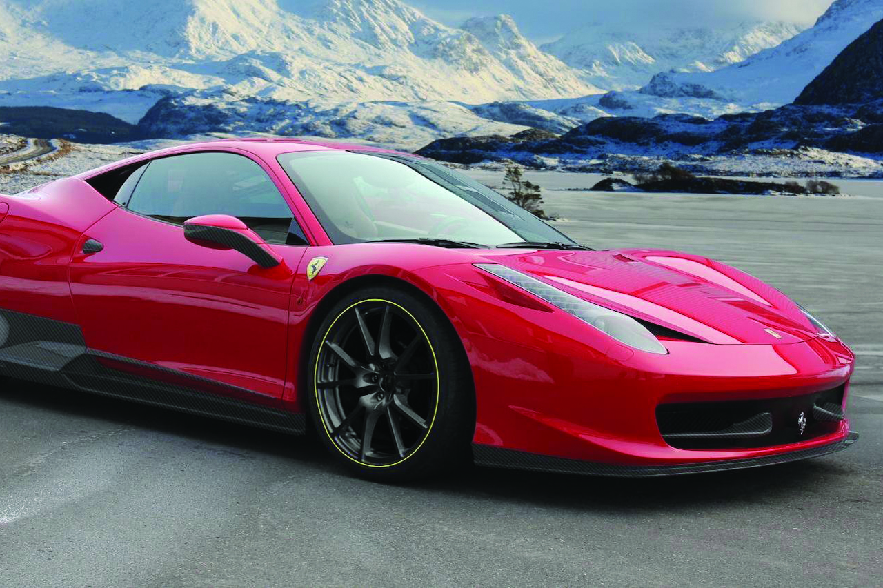 mansory ferrari 458 italia carbon fiber front bumper lip spoiler side skirt set fully forged wheel