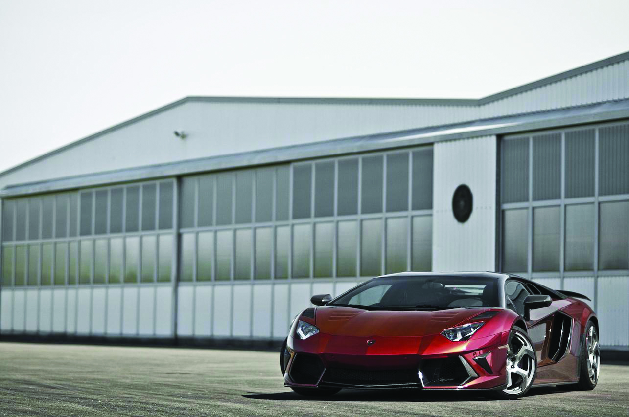 mansory lamborghini aventador main body kit red carbon fiber front bumper side skirt air intake fully forged wheel