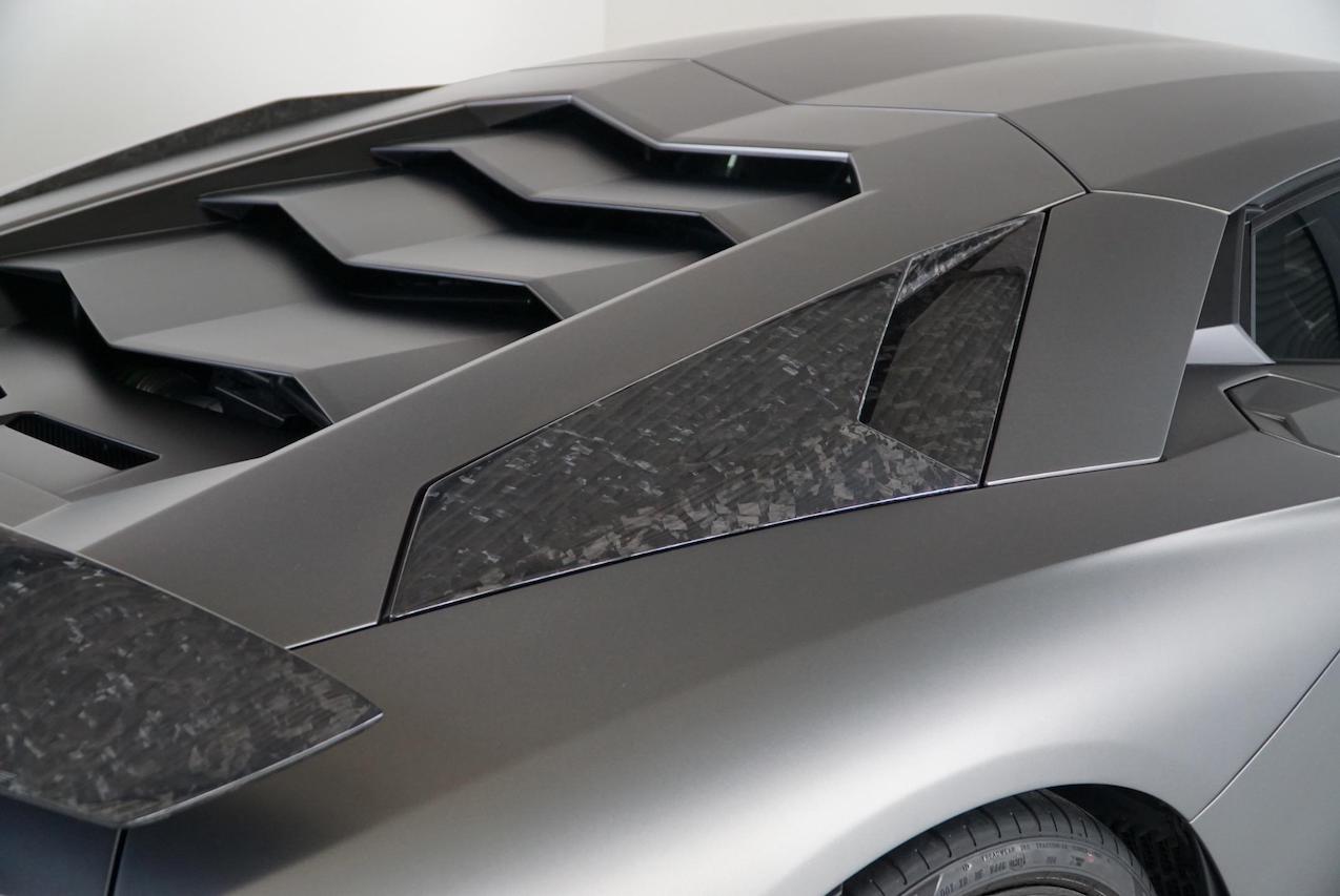 mansory lamborghini aventador s carbon fiber big air intake