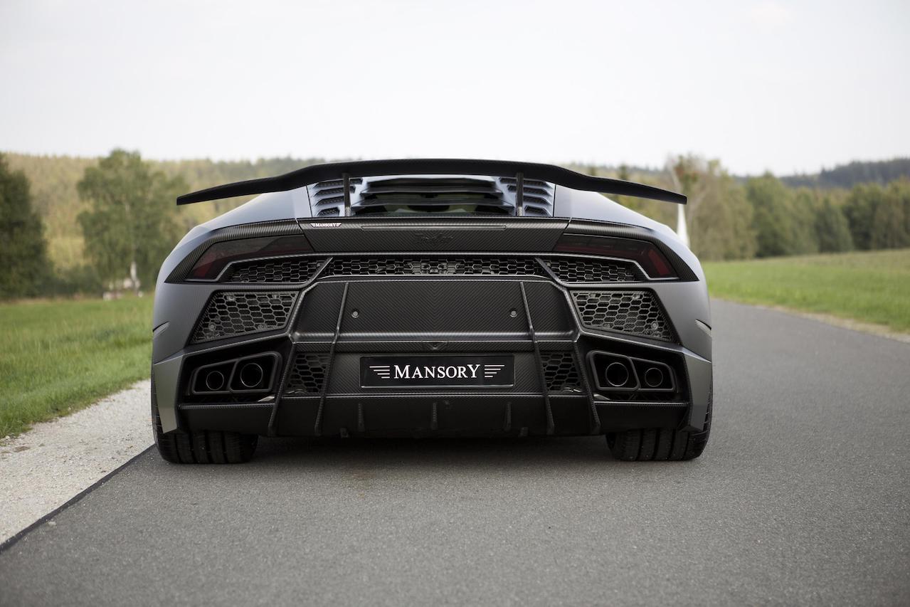 mansory lamborghini huracan torofeo wide body kit carbon fiber rear bumper exhaust system trunk wing spoiler v10 wheel rim