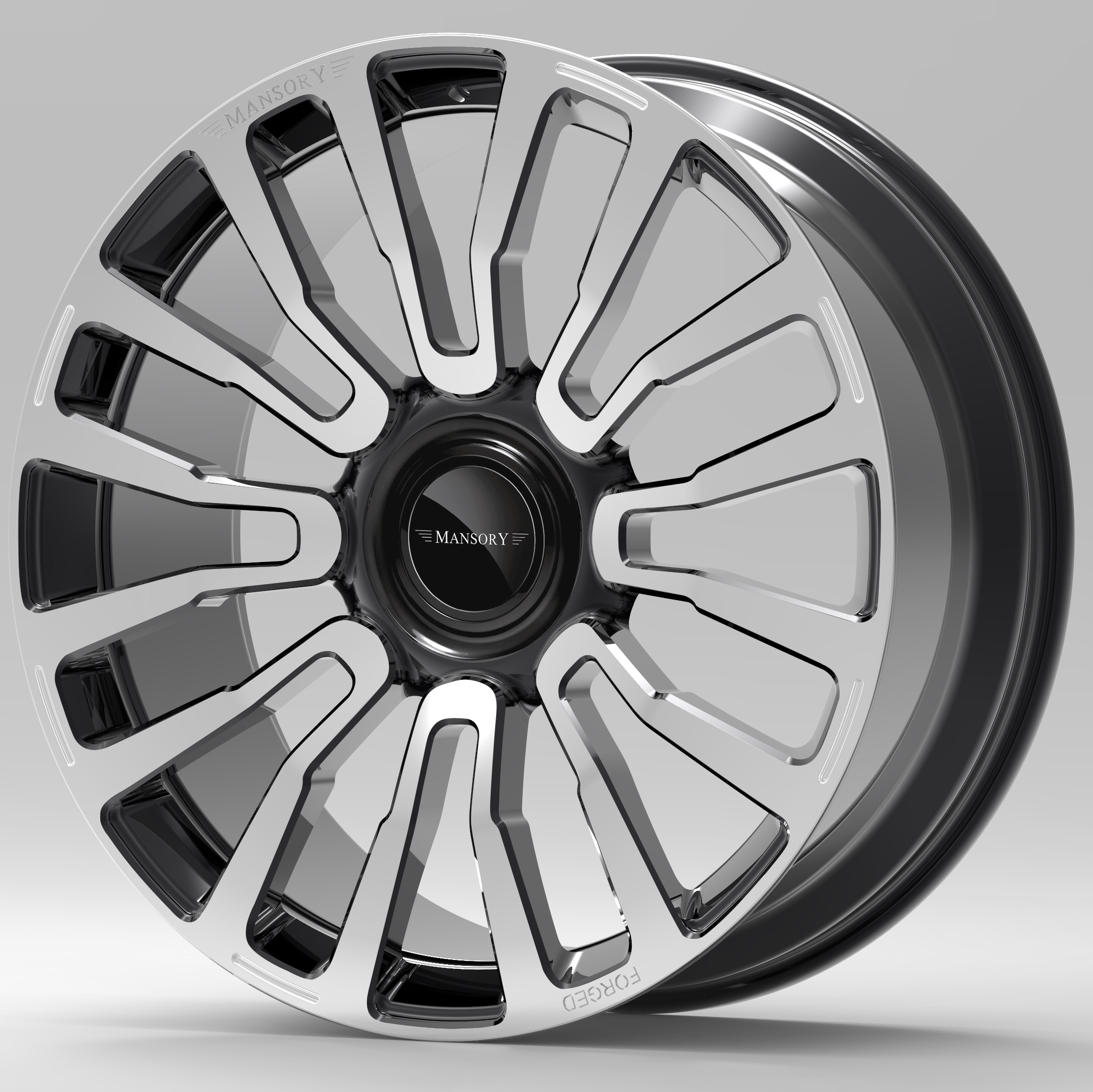 mansory y.8 fully forged wheel