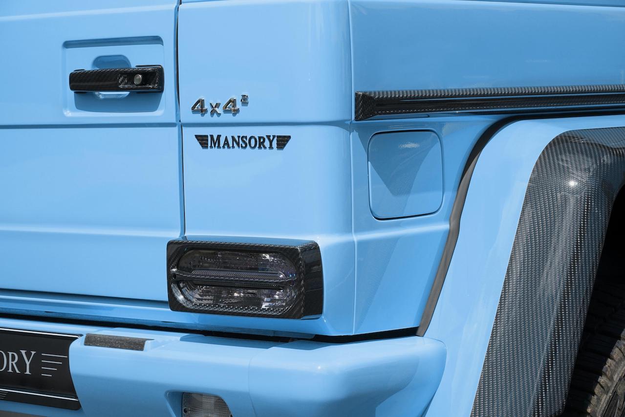 mansory mercedes benz amg 4x4 g550 g63 g65 g500 smoky rear tail light
