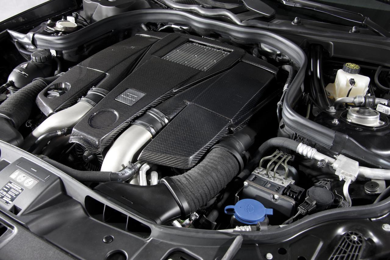 mansory mercedes benz c218 cls class cls63 cls550 wide body kit carbon fiber engine cover program