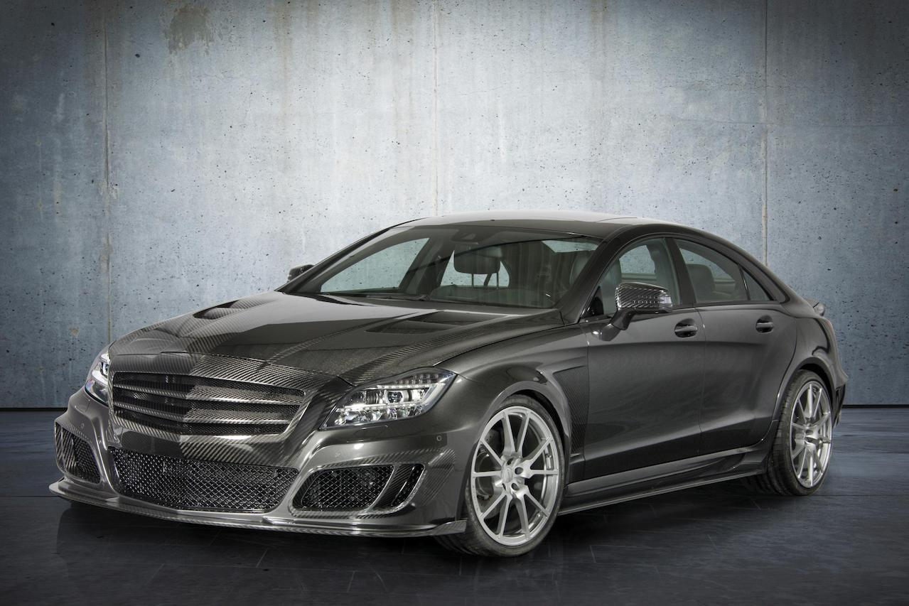 mansory mercedes benz c218 cls class cls63 cls550 wide body kit carbon fiber front bumper grill hood m5 fully forged wheel rim