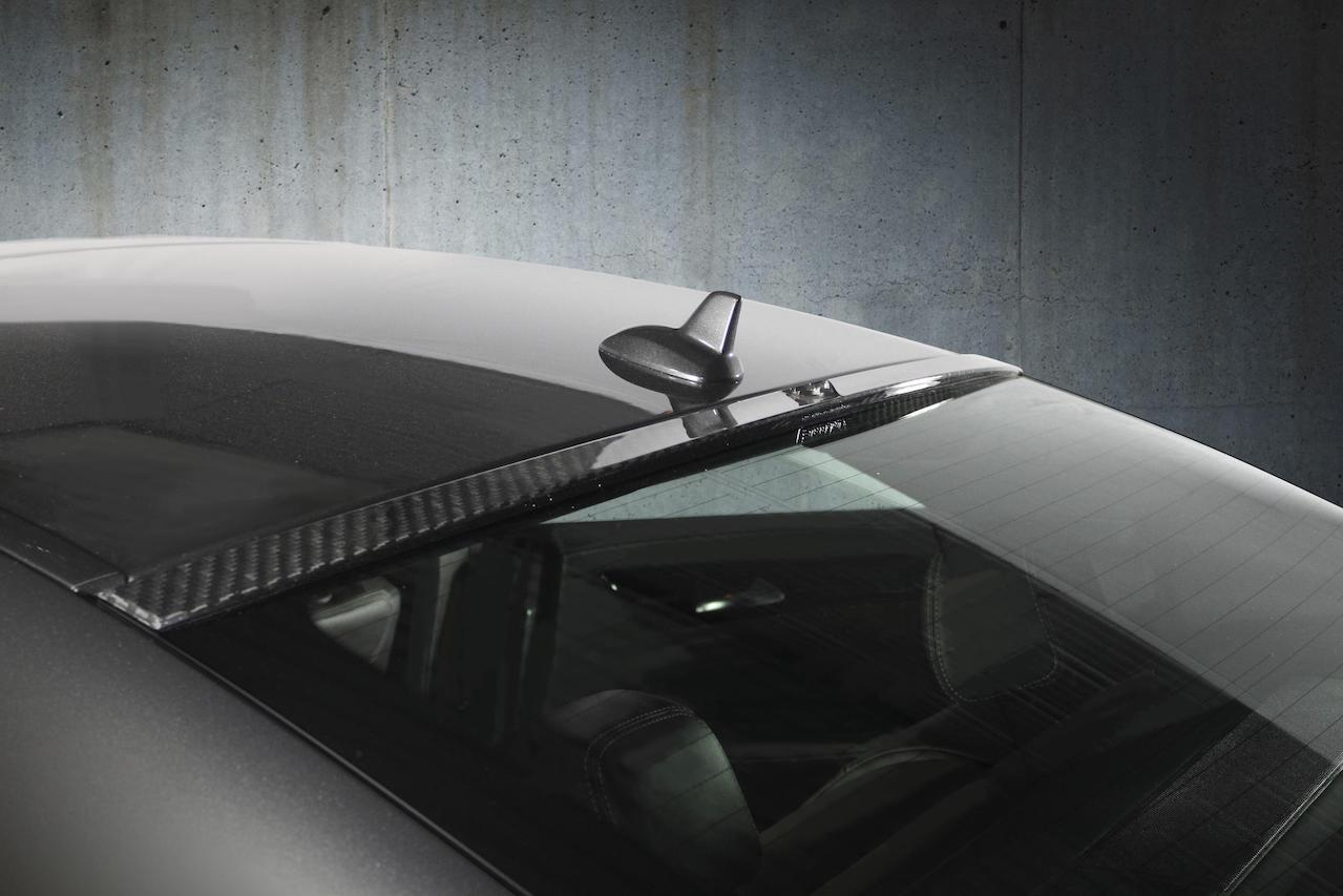 mansory mercedes benz c218 cls class cls63 cls550 wide body kit carbon fiber roof wing spoiler