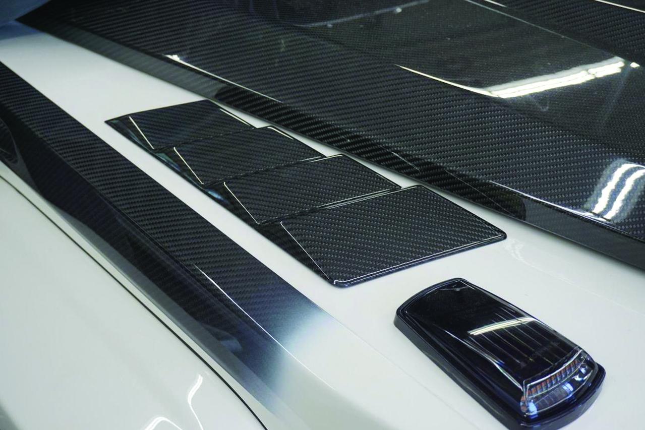mansory mercedes benz g500 g550 g55 g63 carbon fiber fender vent slim low led signal