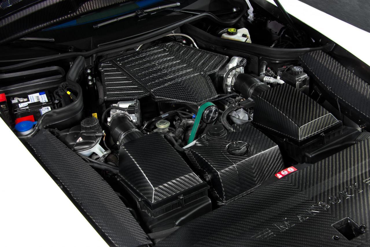 mansory mercedes benz sls amg soft kit carbon fiber engine program cover