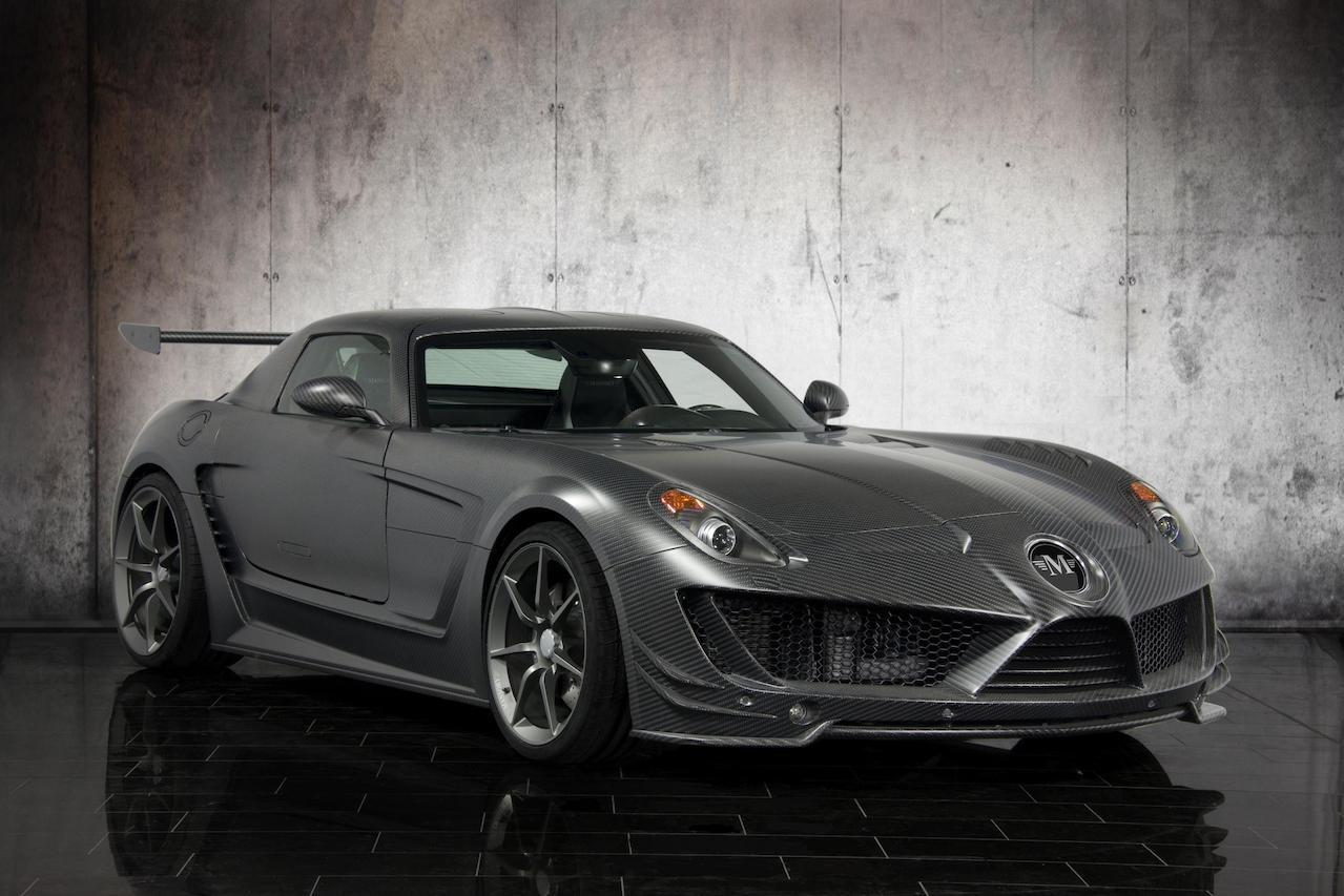 mansory mercedes benz sls cormeum carbon fiber wide body front angle fully forged center lock wheel rim