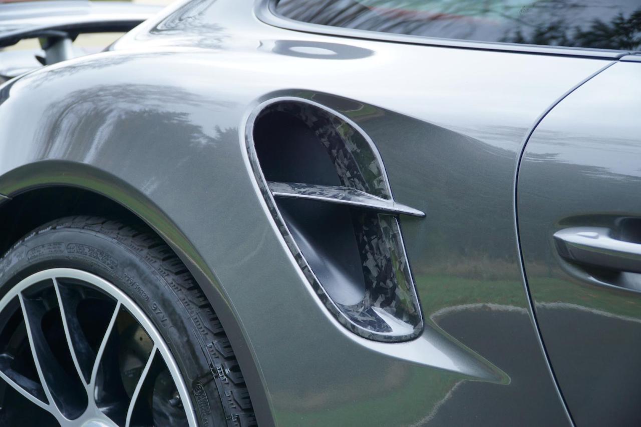 mansory porsche 911 911 turbo s coupe cabriolet carbon fiber rear vent