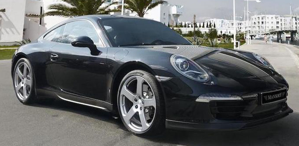 mansory porsche 911 991 black carbon fiber front bumper lip spoiler side skirt set c51 wheel rim