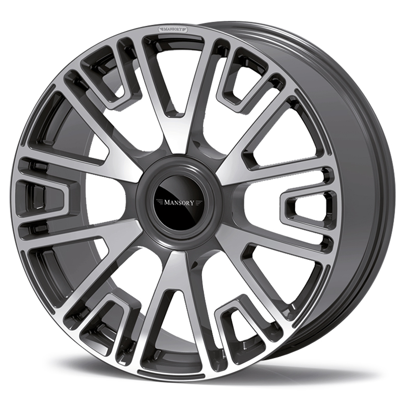 mansory v6 wheel diamond anthracite
