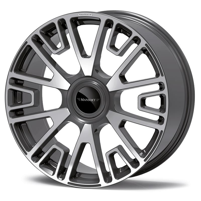 mansory v6 wheel diamond anthracite