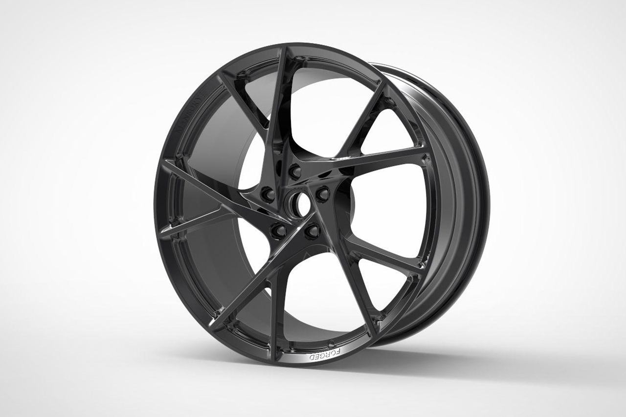 mansory yn.5 forged wheel rim black