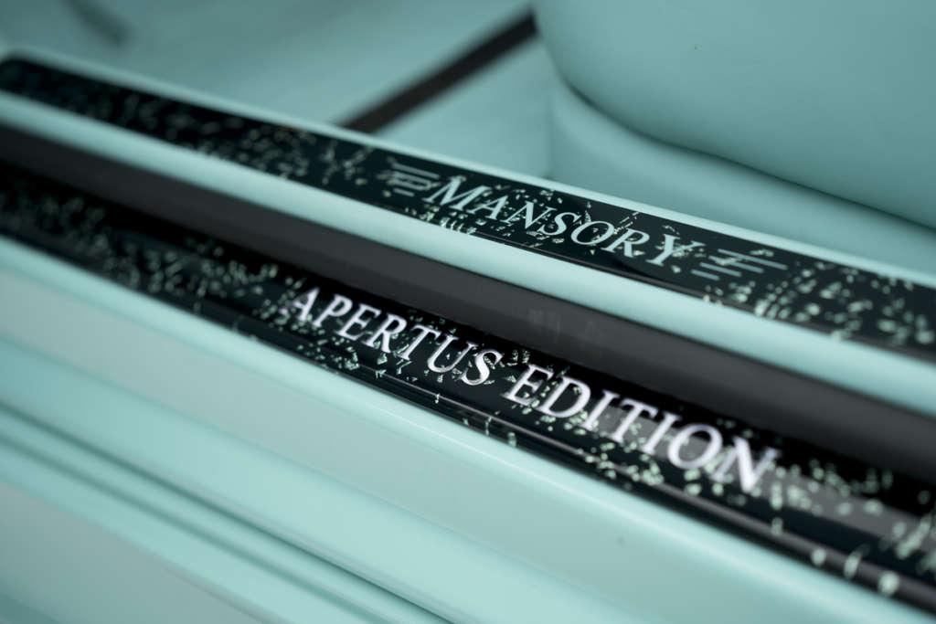 mansory mercedes benz s class coupe cabrio apertus edition