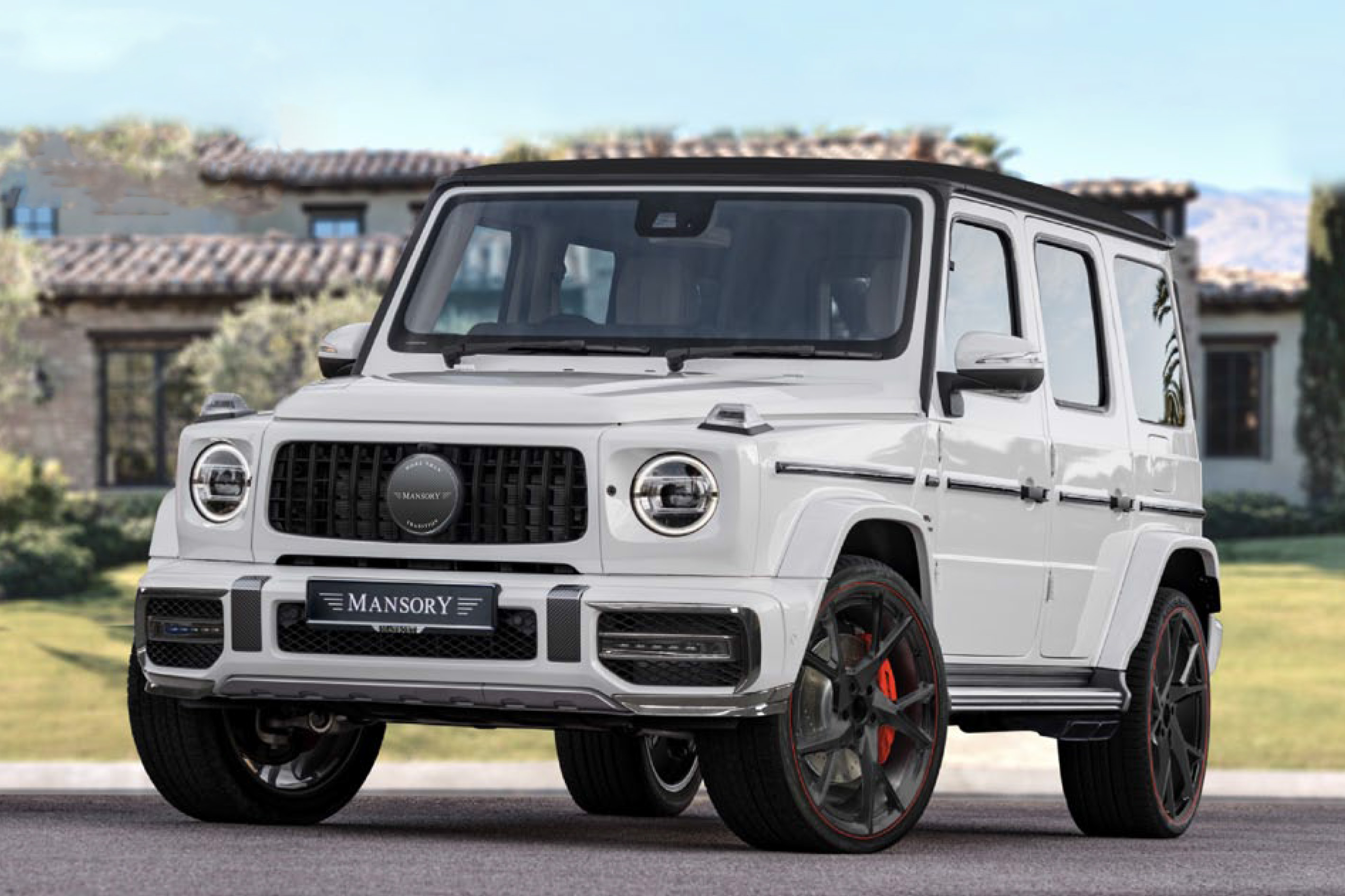 mansory mercedes g wagon w463a body kit yn.5 wheel rim 2019 2020 2021