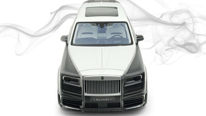 Mansory Rolls Royce Cullinan Wide Body