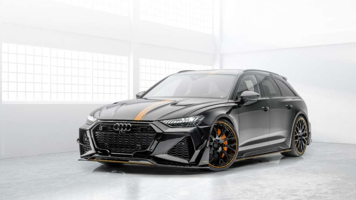 MANSORY BRINGS GIMS 2020 TO YOU – MANSORY 2020 AUDI RS6 AVANT