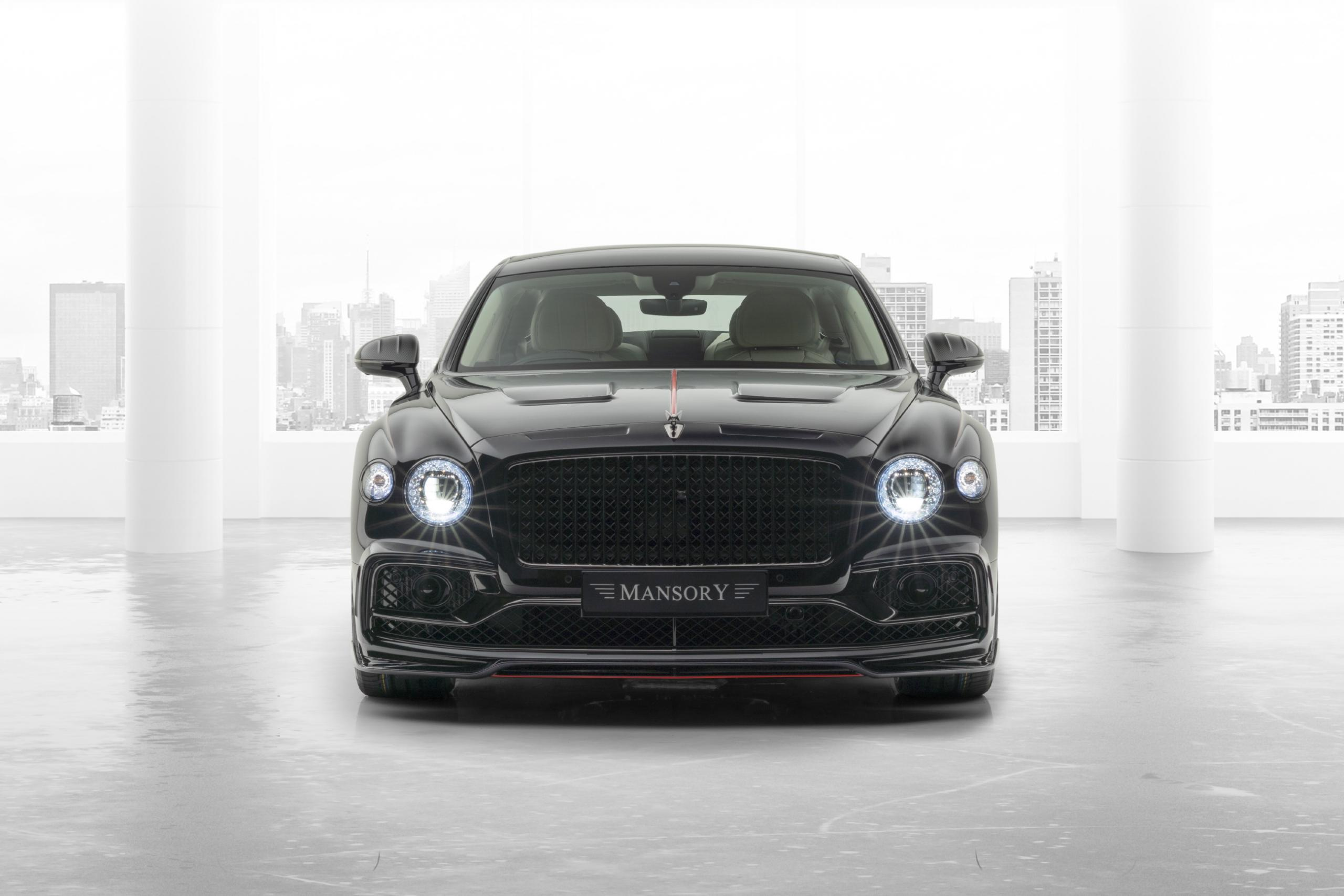 mansory bentley flying spur body kit front end front bumper