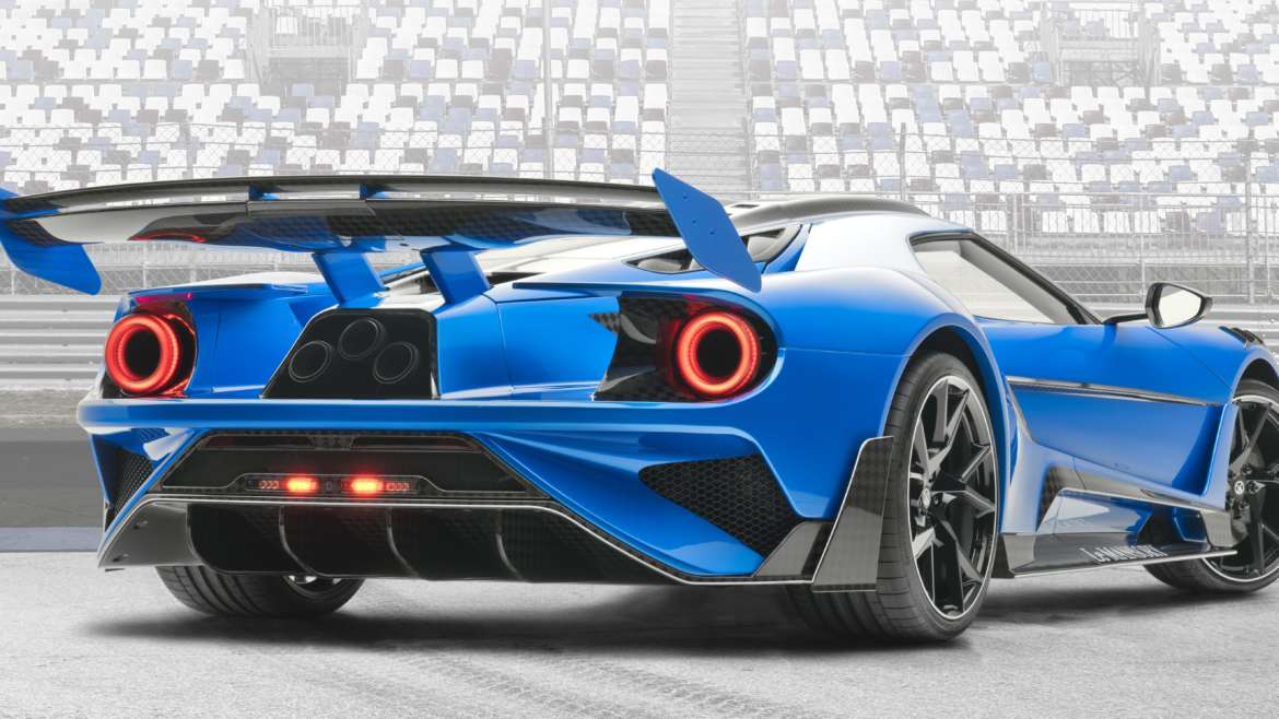 MANSORY – LE MANSORY BASED ON FORD GT – WORLD PREMIERE