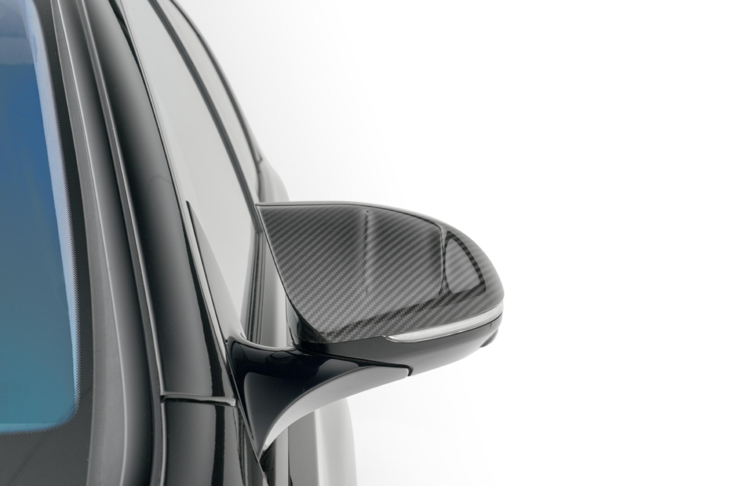 mansory w223 mercedes s class body kit carbon fiber mirror II 2 cover 2021 2022 2023