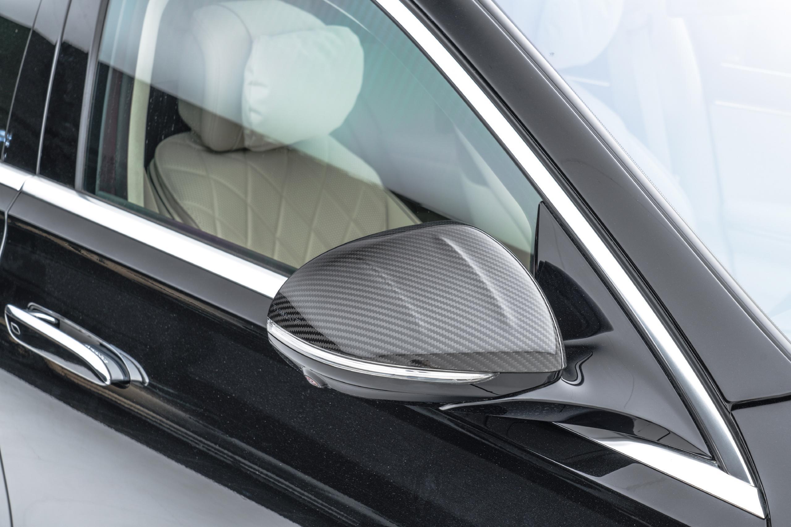 mansory w223 mercedes s class body kit carbon fiber mirror I 1 cover 2021 2022 2023
